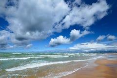 Morze Bałtyckie brzeg Zdjęcia Stock