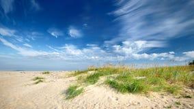 Morze Bałtyckie brzeg Obraz Stock