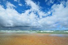 Morze Bałtyckie brzeg w Jurkalne Fotografia Royalty Free