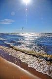 Morze Bałtyckie, Jurmala, Latvia Obrazy Stock