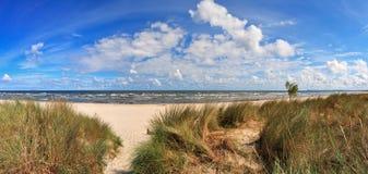 Morze Bałtyckie panorama Obrazy Royalty Free