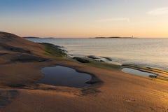 Morze Bałtyckie sceneria Obraz Royalty Free