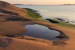Morze Bałtyckie sceneria Obrazy Royalty Free