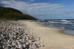 morze bałtyckie stenshuvud Szwecji Fotografia Royalty Free