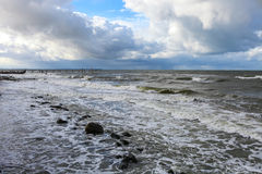 Morze Bałtyckie w jesieni Obraz Stock