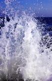 morze bryzga fala Zdjęcia Royalty Free