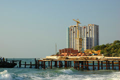 morze budynku. Zdjęcie Stock