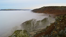 Morze chmura Zdjęcia Stock