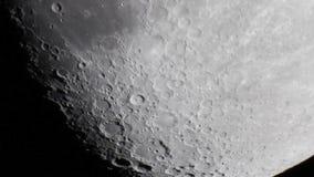 Morze chmura krater Tycho (mare nubium) zdjęcie wideo