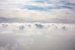 Morze chmury Fotografia Royalty Free
