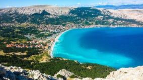Morze - Chorwacja obraz royalty free
