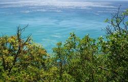 morze ciepły Zdjęcia Royalty Free
