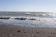 morze czarne naturalne tekstury grafiki projektu fale morskie Sochi Zdjęcia Royalty Free