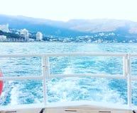 morze czarne yalta crimea Zdjęcie Stock