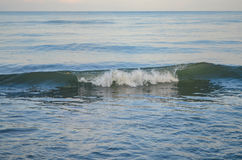Morze, Czarny morze, fala, spokój, medytacja, piękno, siła, pokój, inspiracja, lejność, kontemplacja, ciecz Fotografia Stock