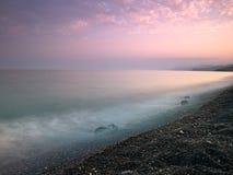 Morze czarny Plaża obrazy stock