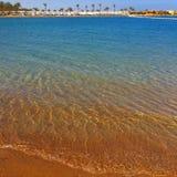 Morze czerwona plaża Zdjęcie Stock