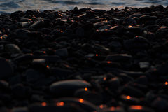 Morze dryluje otoczaki Obrazy Stock