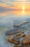 morze dryluje rozciąganie Zdjęcia Royalty Free