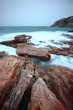 morze dryluje zmierzch Obraz Stock