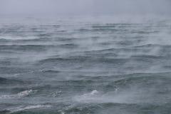 Morze dym zdjęcia stock