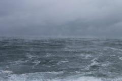 Morze dym fotografia stock