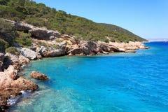 morze egejskie Zdjęcia Royalty Free