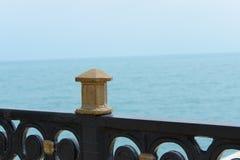 Morze żelazny widok Zdjęcie Royalty Free
