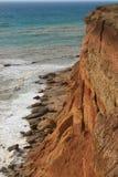 Morze fala, kipiel Skały i falezy morze czarne zdjęcia royalty free