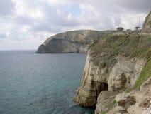 Morze, fala, kołysa Zdjęcia Royalty Free