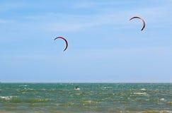 Morze, fala na plaży Obrazy Royalty Free