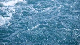 Morze fala strzał od statku zdjęcie wideo