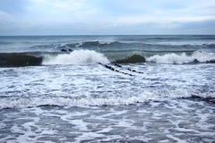 Morze, fala, wiatr Zdjęcia Stock