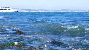 Morze fala wody słońce zbiory wideo