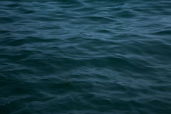 Morze fala zakończenie up, niskiego kąta widok Obrazy Stock