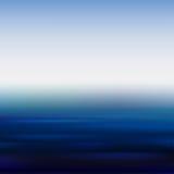 Morze gładka powierzchnia Obraz Stock