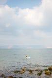 Morze Galilee Kinneret obraz royalty free