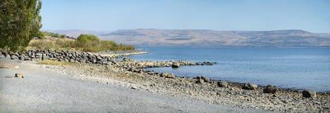 Morze Galilee w Izrael zdjęcie royalty free