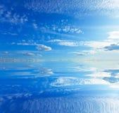 Morze i błękit Fotografia Royalty Free
