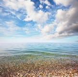 Morze i błękit Fotografia Stock