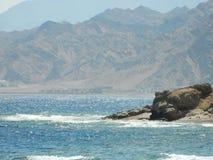 Morze i góra Zdjęcie Stock