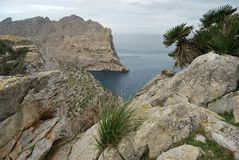 Morze i góra Fotografia Royalty Free