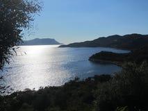 Morze i góry fotografia royalty free