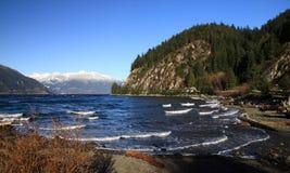 Morze i góry Obrazy Stock