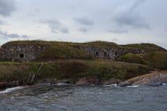 Morze i krajobraz Helsinki obraz royalty free