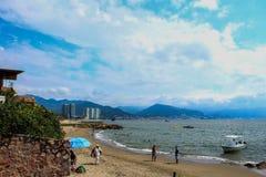 Morze i ludzie zdjęcie stock