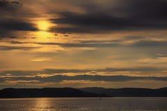Morze i niebo Zdjęcia Royalty Free