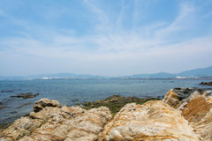 Morze i niebo Fotografia Stock