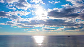 Morze i niebo. 4K. PEŁNY HD, 4096x2304. zdjęcie wideo