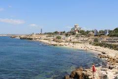 Morze i piękno Zdjęcie Royalty Free